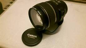 Canon 17-85mm IS lens with uv filter