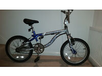 Kids freestyle BMX would suit 5-9 years old