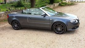 AUDI A4 CONVERTABLE FINAL EDITION IMMACULATE IN AND OUT