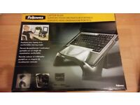 Brand New Fellowes Smart Suites Laptop Stand Riser with 4 Port USB 2.0