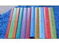 Set of 11 Lemony Snicket Series of Urfortunate Events Books. VGC
