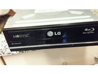 LG blue ray player rewriter 4k up scaling for pc £29.99
