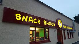Part time counter/ kitchen assistant required for Snack Shack