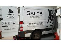Van driver required for catering company approx 30 hours
