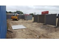 Compound space for rent. From £500pm. Container can be added for additional rent.