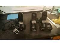 BT gaurdian cordless phones