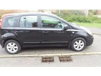 Nissan Note SE 1.5DCI,,,,,,,,,Long Mot and FSH
