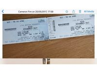 2 x KISS tickets for 27th may secc glasgow