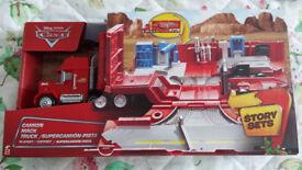 Disney's Mack Truck Play Set - brand new