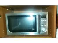 Microwave oven, cuisine blender, large George foreman kitchen bundle