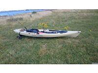 Ocean tetra angler kayak and full fishing set up