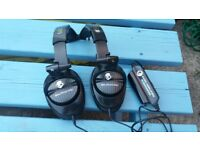 SkullCandy bass amplified headphones