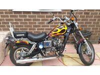 50 cc cruzer bike