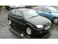 Black 2002 Saxo VTR