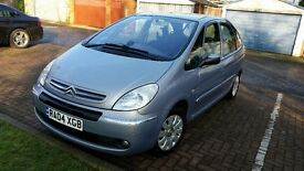2004 Citroen Xsara Picasso 2.0 i 16v Exclusive 5dr Service History 1year MOT @07445775115@
