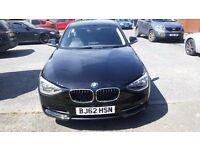 BMW 116i Sports Black 1 series