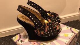 Size 4 Irregular Choice Heels