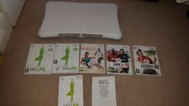 Wii Fitness Board With fitness and games
