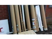 cardboard carton tubes (free)