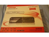 Toshiba VCR/DVD digital recorder with Freeview