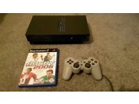 Playstation 2 with 1 Controller + Game