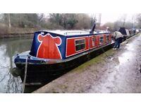 Narrowboat 34ft 'Craft' Springer narrow boat