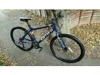 "Carrera Axle hybrid mountain bike cycle 27.5"" 650b wheels"