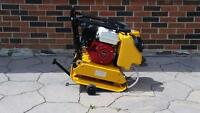 HONDA PLATE TAMPER COMPACTOR FORWARD REVERSIBLE AND DIESEL AVAILABLE + 1 YEAR WARRANTY + FREE SHIPPING !!