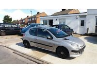 PEUGEOT 206 LONG MOT CHEAP CAR @£299