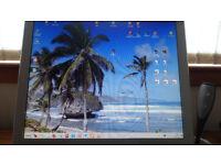 VideoSeven L17PS Computer Display