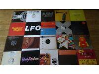 200 x dance vinyls - faithless / grid / underworld / fluke / orbital / prodigy
