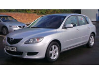 2005 55 MAZDA 3 1.6 TS SILVER 5DR MOT 09/17 (CHEAPER PART EX WELCOME)