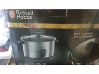 russel hobbs rice cooker/steamer