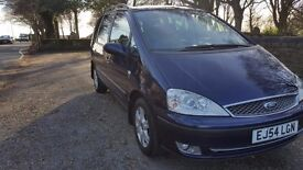 2005 FORD GALAXY AUTOMATIC 2.8 V6 GHIA X RARE RARE CAR LOW MILES 76000