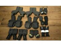 Car seat adapters to attach maxi cosi seats to pram, pushchair.