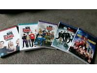 Big Bang Theory DVD'S - season 1-5