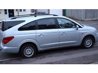 2009 SSANGYONG RODIUS 2.7 DIESEL AUTOMATIC GEARBOX