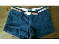 Women Shorts SuperDry + belt
