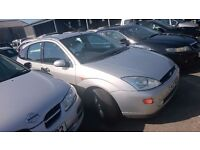 2000 FORD FOCUS GHIA, 1.8 PETROL, BREAKING FOR PARTS ONLY, POSTAGE AVAILABLE NATIONWIDE