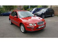 2001 Rover 25 1.4lx 1lady owner 48300miles full history