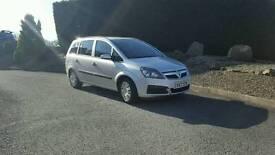 ## reduced## Vauxhall zafira 1.9 cdti diesel 7 seater