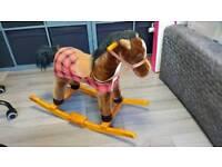 Pony stable rocking horse