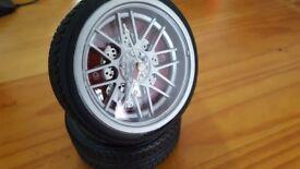 Clock/Alarm - Tyre Shaped