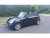 Mini Cooper Convertible 2004 1.6 petrol