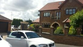 BMW 1 series 118d m sport. 2 keys, white in colour tinted back windows lovely car.