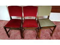 4 upholstery chairs
