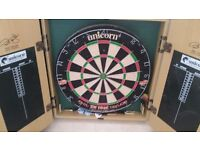 Dart board with cabinet Phil Taylor