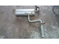 Toyota Celica Gen7 rear exhaust silencer / back box ( new )