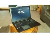 Acer aspireE5-521 amd A6 quad core laptop, 6gb ram,1 tbhd