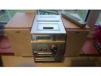 Sony hifi cassette, CD, radio, mini dics player